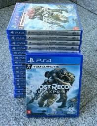 Jogo PS4 Físico Lacrado - Tom Clancy's Ghost Recon Breakpoint