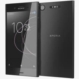 Título do anúncio: Celular Sony XZ1 preto lacrado modelo G8143 64gb 4gb 19mp 5057 x 3796 pixel 4k