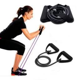Extensor Elastico Para Fortalecimento Muscular E Fisioterapia Em Casa MbFit