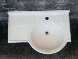 Pia de Banheiro de Fibra