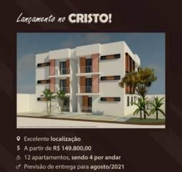 Apartamento para vender no Cristo - Cod 9977