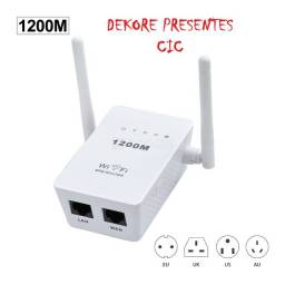 Repetidor Sinal Wifi duas Antenas 1200