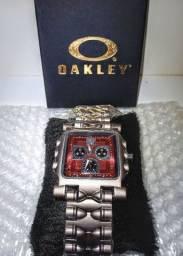 Relógio oakley minute machine Vermelho (ENVIO IMEDIATO!)