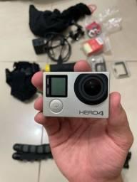 GoPro Hero 4 + Acessórios