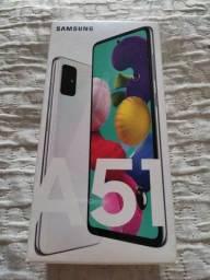 Galaxy A51 Zerado Acessórios Lacrados. NOTA FISCAL