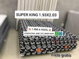 CaMa Super king pelmex, nova direto da fábrica FRETE GRÁTIS