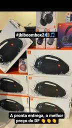 JBL boombox original, com nota fiscal