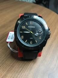 Relógio Analógico Mondaine Casual Black