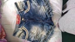 Título do anúncio: Shorts jeans usado