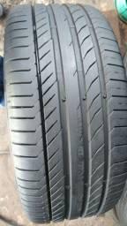 Jogo de pneus seme novos 255/45/19 continental contitcontac