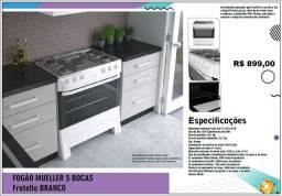 Título do anúncio: Ofertas - Fogão 5 Bocas - Automático - Mueller