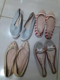 Sapatos Carmen Steffens e Moleca