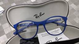 Título do anúncio: Armacao de Óculos de Grau Ray Ban Original tamanho 53 adulto Nova