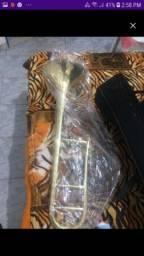 Vendo Trombone de vara zerado sem uso