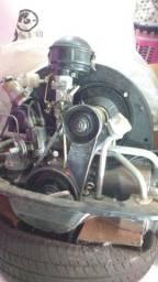 """Motor de Fusca  1200 - """"Zero"""" - Raridade Mesmo."""