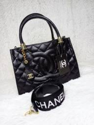 (NOVO) Bolsa Chanel Preta Premium