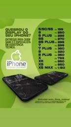 Display de Iphone - TROCAMOS NA HORA