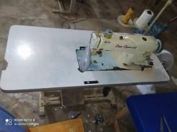 Máquina reta industrial kit pesado para jeans