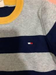Blusão modal tommy e calça zara (originais) menino 04 anos