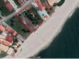 Terreno à beira-mar, com 2500m² - Barra Nova