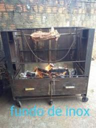 Título do anúncio: Churrasqueira de ferro