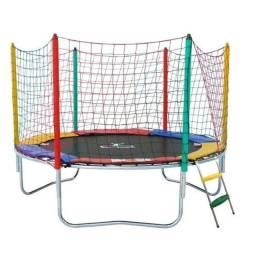 Pula pula, piscina de bolinha, escorregador e balanço duplo