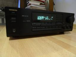 Receiver Onkyo Tx8511 Audio/Video sem controle remoto