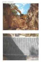 Soluções em muros de arrimo, contenção e divisa