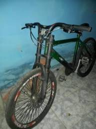 Bicicleta troco por som automotivo