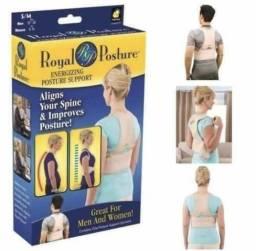 Cinta Corretor Postura Magnético Colete Royal Posture