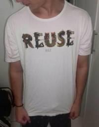 4 camisetas DLT T-M e G