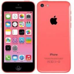 Vendo ou troco iphone 5c rosa