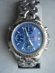 Em Atibaia- Seiko Cronógrafo SQ100 chronograph 7T32-6G20 - para colecionadores