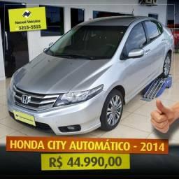 Honda City Aut - Novíssimo com baixa quilometragem - 2014