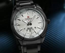 a7a3eb9b38f Relógio 9038 Naviforce 30m D água Aço Inoxidável (Consulte o Catálogo)
