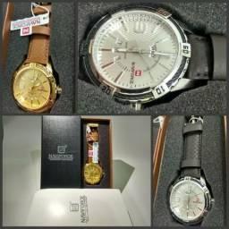 7da52cbe5f2 Original Relógio Naviforce 9117 - Novo