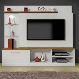 Estante Home para TV até 65 Polegadas com LED 1 Gaveta Flórida
