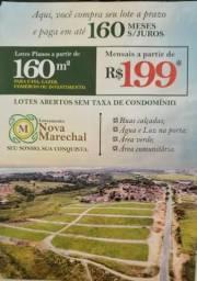 A partir de 199 mensais , loteamento nova marechal