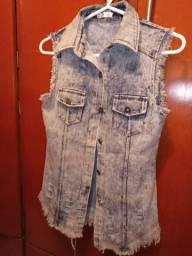 Lindo colete jeans