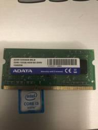 Memória ddr3 1333 4GB