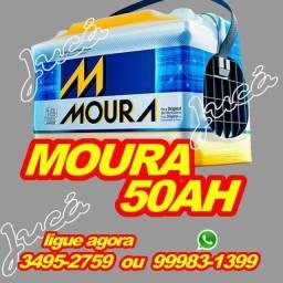 Bateria Moura 50AH - em até 10x sem juros, adquira hoje a sua -