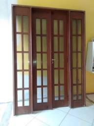 Jogo de Porta com janelas NEGOCIÁVEL