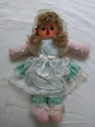Título do anúncio: Boneca de Pano da década de 1980