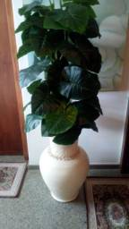 Vaso d planta artificial