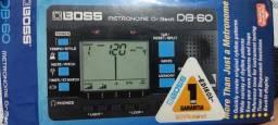 Metrônomo e Afinador Digital Boss DB-60 Dr. Beat
