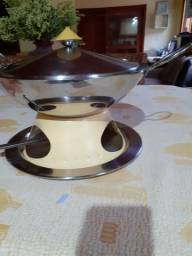 Rechaud panela wok ming inox
