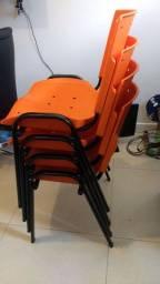 Cadeira plástico polipropileno