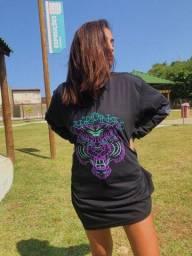 Título do anúncio: Camiseta Manga Longa Tiger Purple