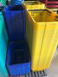 Cestas cestos de plástico para mercados