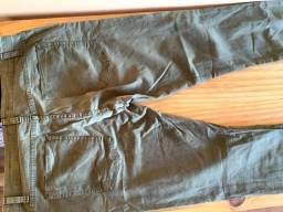 Título do anúncio: Calça Skinny, Verde Escuro, Tam 46 - Renner